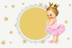 Graduation Wallpaper, Baby Shower Templates, Princess Birthday Invitations, Invitation Layout, Angel Images, Baby Clip Art, Diy Gift Box, Baby Princess, Album Design