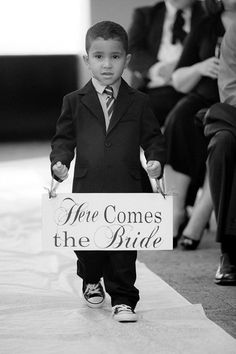 Ring bearer idea