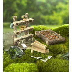 Ladybug Garden Decor Scottish Terrier Statue - Make Easy Diy Mini Fairy Garden, Fairy Garden Houses, Gnome Garden, Fairies Garden, Ideas Dormitorios, Ladybug Garden, Fairy Garden Furniture, Fairy Village, Ideias Diy