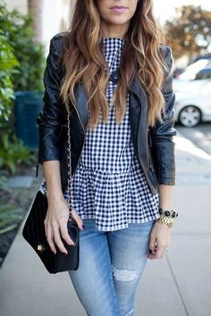 We wish we could rock all these outfits this spring. Check them out!