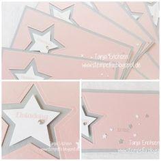 www.stempelfix.blogspot.de #Einladung #taufe #sterne