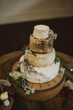 cheese tower wedding cake sydney cake with australian blooms wedding cake 12585