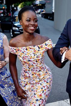 """delevingned: """" Lupita Nyong'o attends the 70th Annual Tony Awards at The Beacon Theatre on June 12, 2016 in New York City. """""""