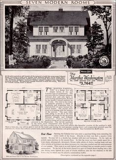 the house across the street martha washington dutch colonial revival kit house plan 1923 sears home honor built