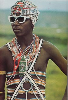 African Elegance by Alice Mertens / photos by Joan Broster (1973)