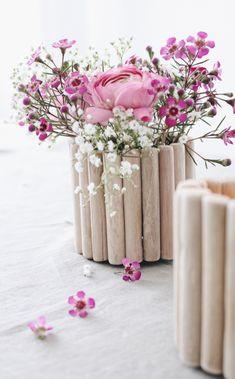 DIY Vase aus Holz selber machen
