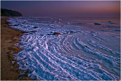 Frozen Waves - Gulf of Finland Places Around The World, Around The Worlds, Frozen Waves, Art Of Man, Baltic Sea, Marimekko, Ocean Beach, Helsinki, Amazing Places