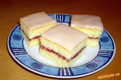 Czech Desserts, Czech Recipes, Sweet And Salty, Nutella, French Toast, Cheesecake, Goodies, Food And Drink, Sweets
