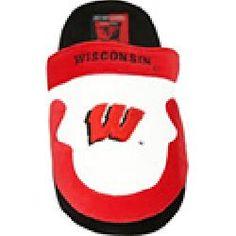 ComfyFeet Wisconsin Badgers Slip On Slippers