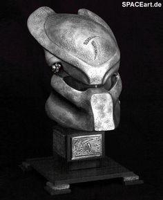 Alien vs. Predator: Scar Predator Helm - Deluxe, Fertig-Modell ... http://spaceart.de/produkte/avp008.php