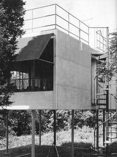 Kocher canvas weekend house, Northport NY (1934)   Albert Frey