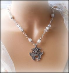 Pentacle Of The Moon Necklace
