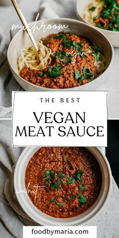 Vegan Meat Recipe, Vegan Dinner Recipes, Meat Recipes, Whole Food Recipes, Food Processor Recipes, Vegetarian Recipes, Cooking Recipes, Healthy Recipes, Sushi Recipes