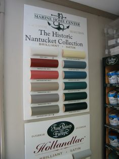Nantucket Historical Society's Historic Paint Colors | S.B. Long Interiors Inc.