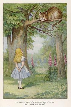 Le marronnier où est perché le chat du Cheshire se dresse toujours dans le jardin privé du doyen de Christ Church.