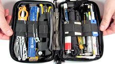 Survival Kit Tools/ Pt. 1 (of 3) Pocket Organizer-  MAXED OUT