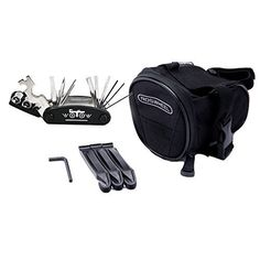 WOTOW 16 in 1 Multi-Function Bike Bicycle Cycling Mechanic Repair Tool Kit With 3 pcs Tire Pry Bars Rods  Bike Outdoor Seat Saddle Bag This has a rating of above 4 stars and remains among the top selling products online in Sports category in Canada. Click below to see its Availability and Price in YOUR country.