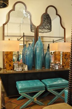 Stools and lamps