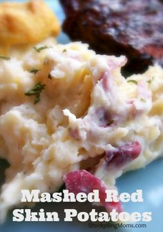 These mashed red skin potatoes will quickly become a favorite side dish in your home!