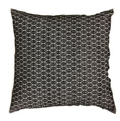 Pillow - Black Mosaic | Party at the Moontower Event Rentals