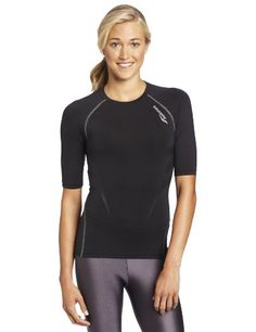 Saucony Womens Amp Pro2 Short Sleeve XSmall Black *** Check out the image by visiting the affiliate link Amazon.com on image.