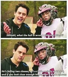 Teen Wolf ~ Coach Finstock ~Cupcake~(Orny Adams) and Stiles (Dylan O'Brien) Coach has many funny lines.One of my favorite characters Stiles Teen Wolf, Teen Wolf Dylan, Teen Wolf Cast, Teen Wolf Memes, Teen Wolf Quotes, Teen Wolf Funny, Dylan O'brien, Scott Mccall, Malia Tate