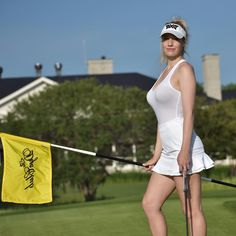 How To Improve At Golf? Practicing significantly better golf. golf driving tips. Sport Treiben, Sport Girl, Girls Golf, Ladies Golf, Women Golf, Sexy Golf, Golf Photography, Golfer, Costumes