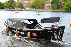 Spreeboote  Rent-a-boat  No driver necessary