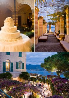 Portofino Wedding by Corbin Gurkin - Style Me Pretty