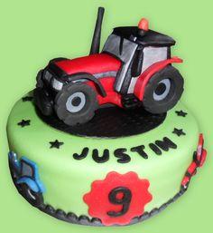 Tractor cake  - trekker taart