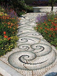 garden art and stuff made from salvage | swirl | Garden Art *Yard Junk I Love**