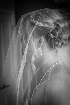 My wedding hair. Braid <3