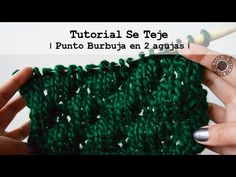 Punto Burbuja   Tutorial Se Teje   - YouTube Fingerless Gloves, Arm Warmers, Youtube, Bubble, Crocheting, Dots, Tejidos, Patterns, Fingerless Mitts