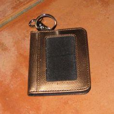 BronzeRose Keychain ID Credit card holder by ShabbyBuyDesign, $5.00
