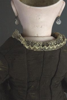 "14"" Marked ""Circle Dot"" Bru JNE BEBE Bisque Socket Head Marked as s Lot 1025 | eBay"