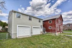 Detached 2 car garage & barn #Stevens #PA #homesforsale #realestate #pennsylvania