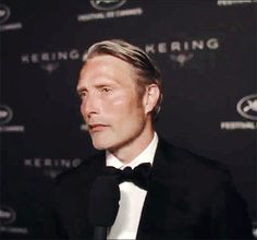 Mads Mikkelsen attends the Awards Dinner 'Women in Motion' by Kering Party at Place de la Castre, on May 21, 2017 in Cannes, France.