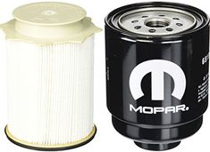 Dodge Ram 6.7 Liter Diesel Fuel Filter Water Separator Set Mopar OEM - Available for 2013-2016 Dodge Ram 3500 With Diesel EngineAvailable for 2013-2016 Dodge Ram 2500 With Diesel Engine
