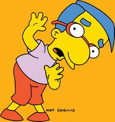 Springfield Characters: Milhouse Van Houten
