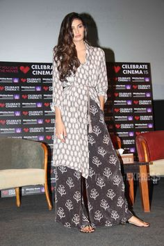 Athiya Shetty at Whistling Woods institute. #Bollywood #Fashion #Style #Beauty