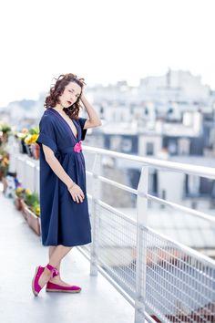 Robe sur mesure - Robe kimono, made in Paris ! Robes demoiselles d'honneur et témoins