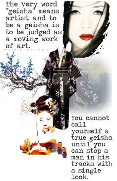 """Memoirs of a Geisha"" by ladysnape ❤ liked on Polyvore"