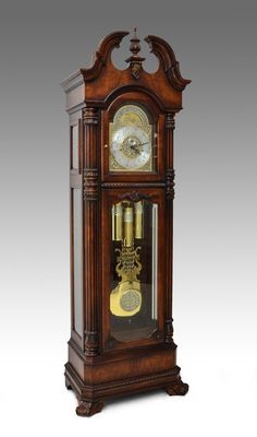HOWARD MILLER PRESIDENTIAL GRANDFATHER CLOCK - Sold $1,750