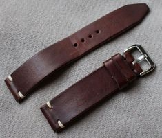 Straps FS: Drew leather and canvas, Hodinkee, Isofrane Image 1