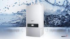 Met de cv-ketels van Nefit heb je extra snel warm water en extra veel warm water tegelijk.