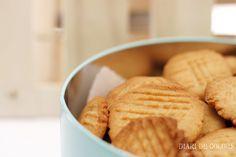 Receta galletas de manteca de cacahuete