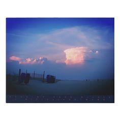 SUN CLOUD FAUX CANVAS PRINT Cloud Photos, Blue Beach, Corner Designs, Photo Canvas, Canvas Art Prints, Wrapped Canvas, Ocean, Clouds, Sunset