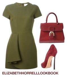A fashion look from August 2015 by elizabethhorrell featuring Valentino, Casadei and Delvaux Classy Outfits, Chic Outfits, Fashion Outfits, Womens Fashion, Fashion Trends, Inspired Outfits, Girly Outfits, Fashion Inspiration, Fashion Over
