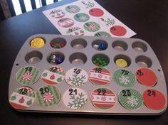 Muffin Backform Adventkalender