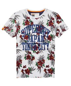 Superdry Camiseta All Over Print Hawaiian Floral. T Shirt ...